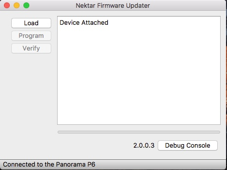 Updating Firmware: Panorama